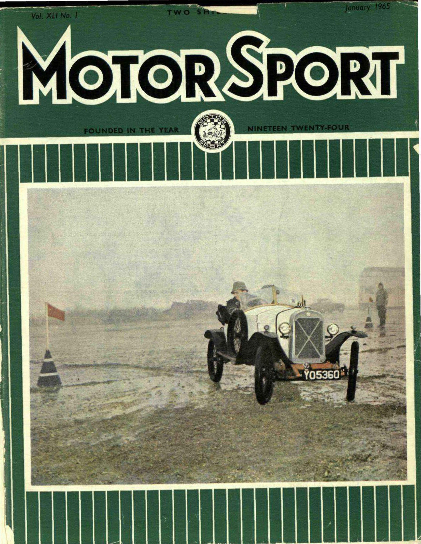 January 1965   Motor Sport Magazine