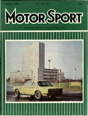 Cover of archive issue January 1973