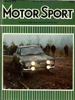 Cover of archive issue January 1975