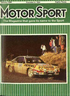 Cover image for January 1985