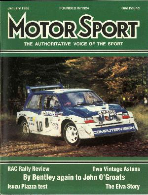 Cover image for January 1986