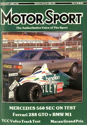 Cover image for January 1987