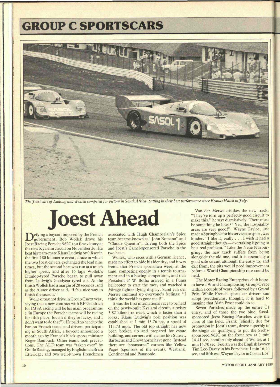 joest ahead image