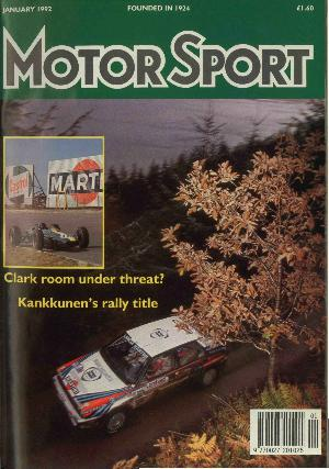 Cover image for January 1992