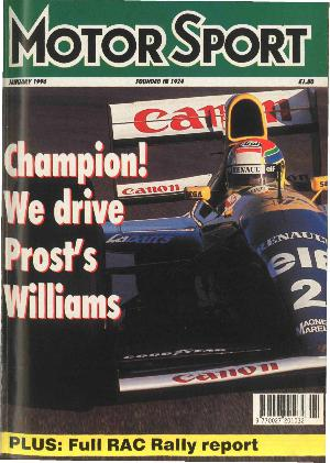 Cover of archive issue January 1994