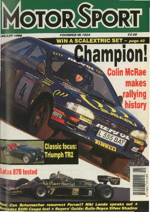 Cover image for January 1996