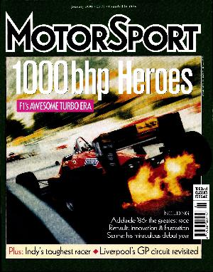 Cover image for January 2001