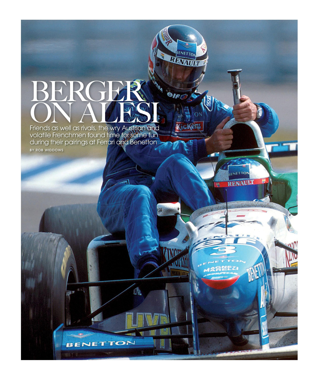 Berger on Alesi image