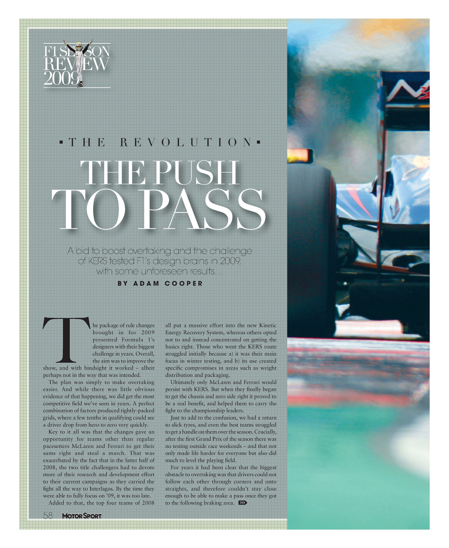 The revolution | Motor Sport Magazine Archive