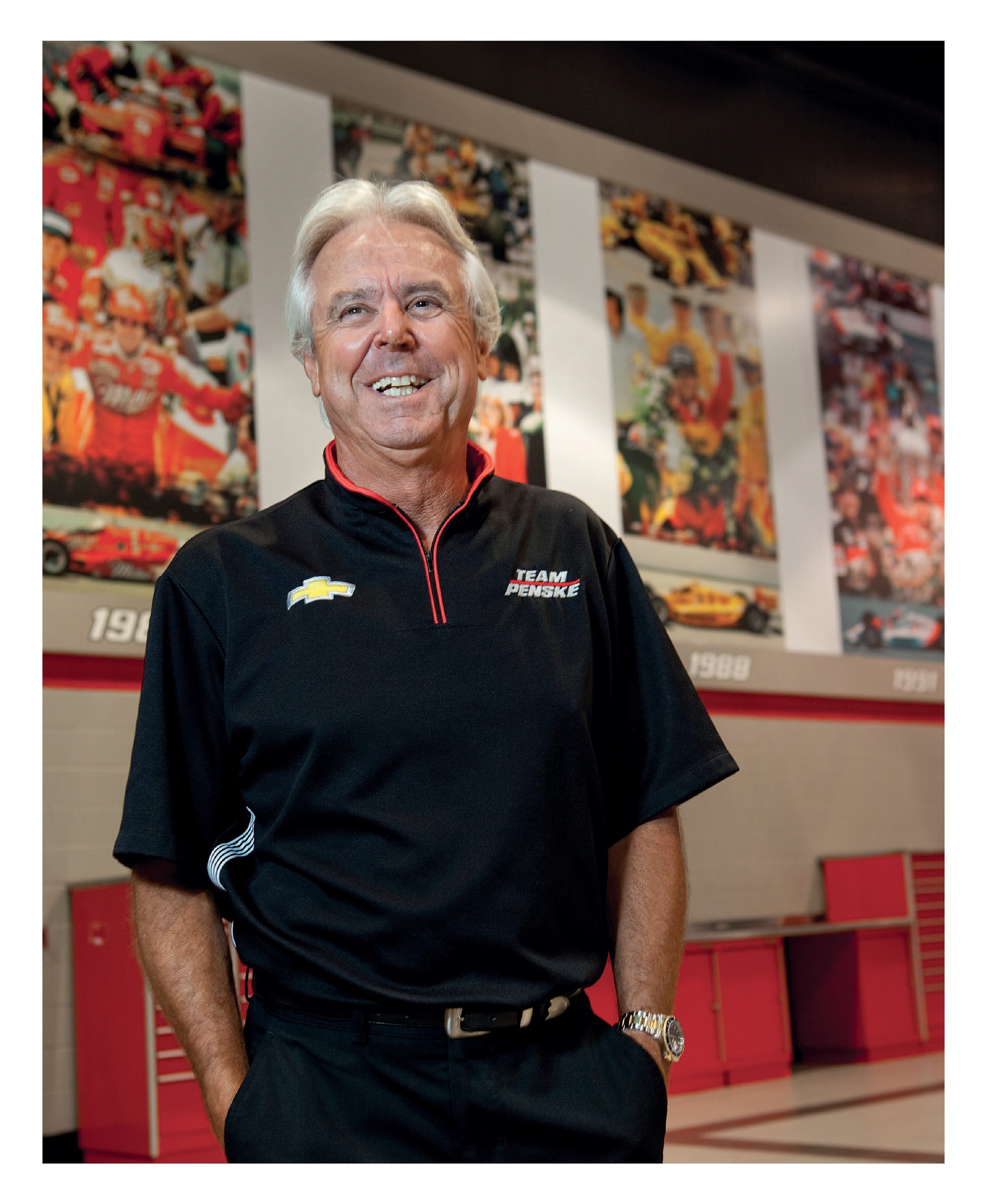 Lunch with... Rick Mears image