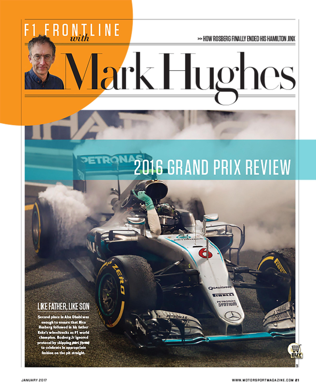 F1 Frontline With Mark Hughes Motor Sport Magazine Archive Grip Lining Gp 34a Original