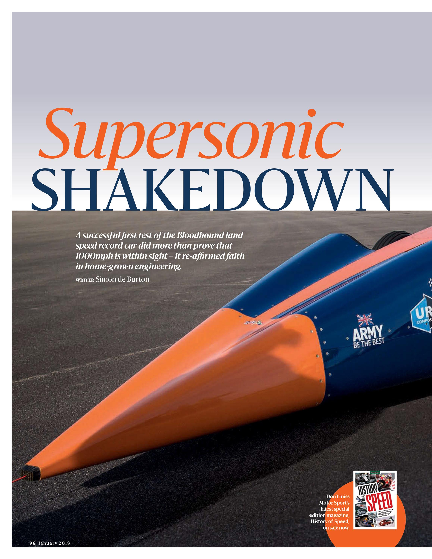 Supersonic Shakedown image