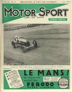 Cover image for July 1933