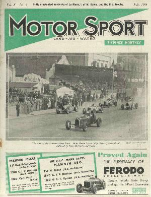 Cover of archive issue July 1934