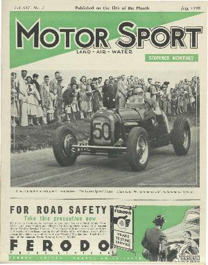 Cover of archive issue July 1938