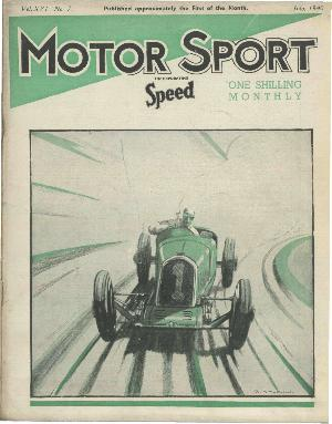 Cover of archive issue July 1940