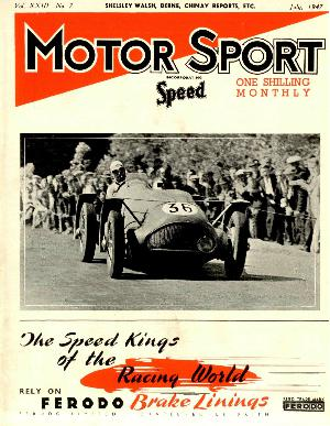 Cover of archive issue July 1947