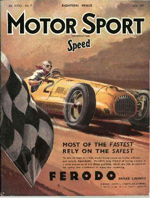 Cover of archive issue July 1951