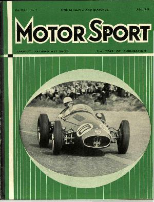 Cover of archive issue July 1954