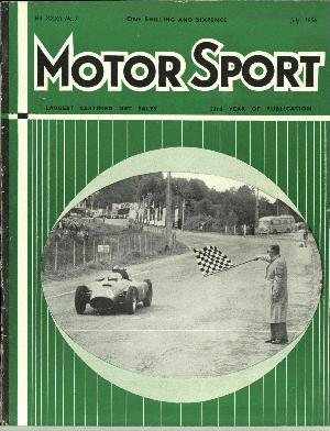 Cover of archive issue July 1956