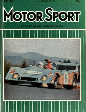 Cover image for July 1972