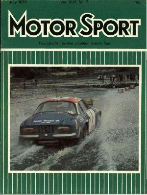 Cover of archive issue July 1973