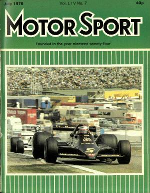 Cover image for July 1978