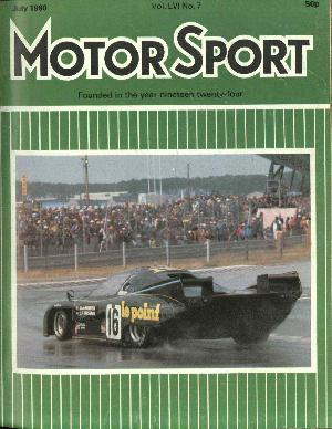 Cover image for July 1980