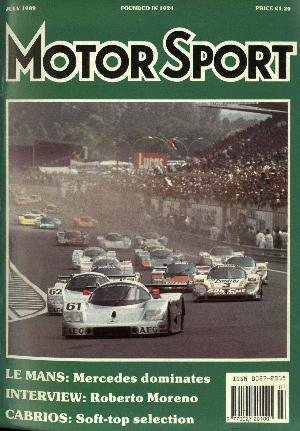 Cover image for July 1989