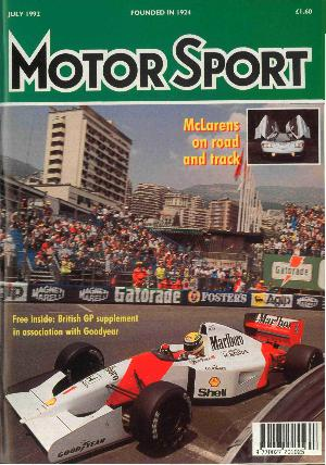 Cover of archive issue July 1992