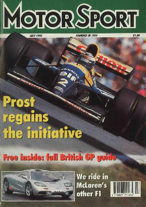 Cover of archive issue July 1993