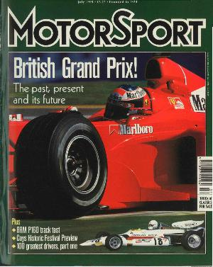 Cover of archive issue July 1999