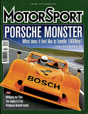 Cover image for July 2003