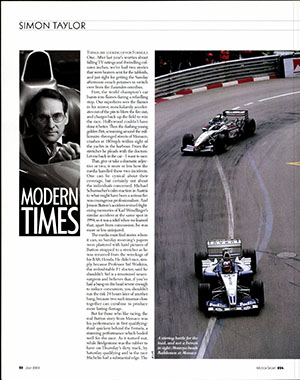 Page 20 of July 2003 archive issue thumbnail