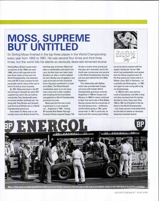 Moss Supreme But Untitled Motor Sport Magazine Archive