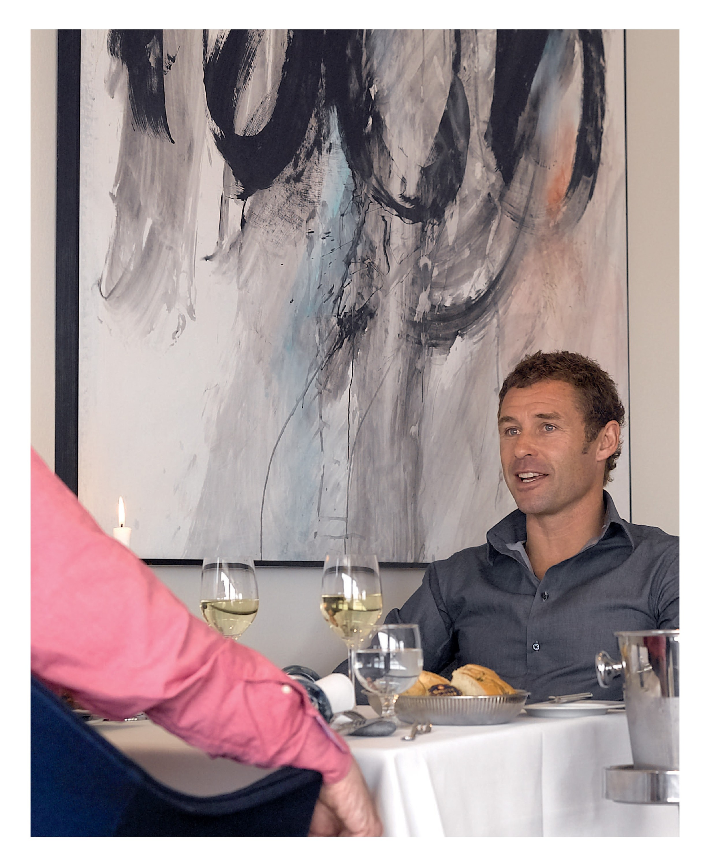 lunch with tom kristensen image
