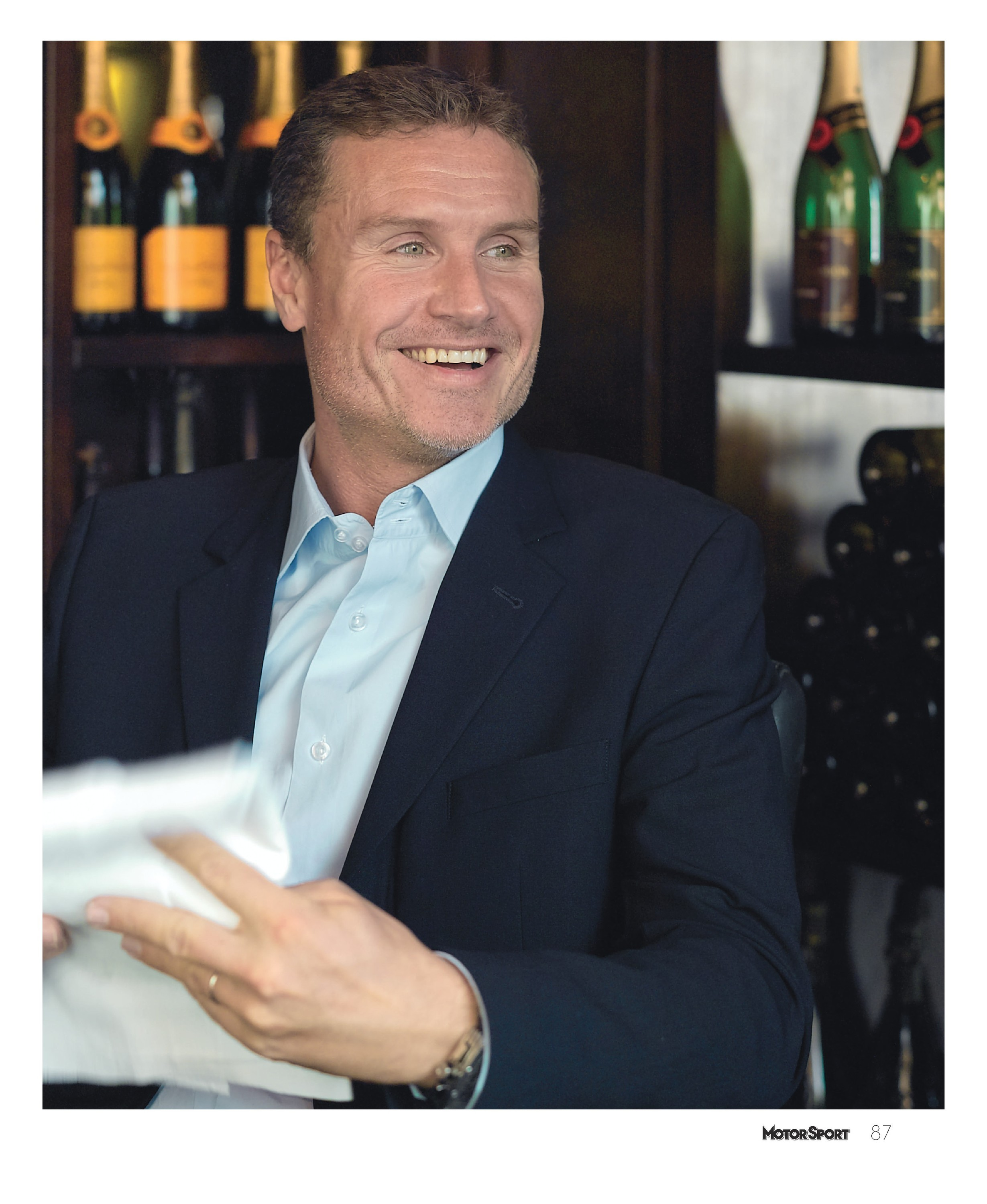 Lunch with . . . David Coulthard image