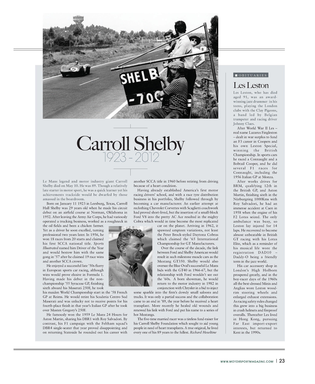 carroll shelby 1923 2012 image