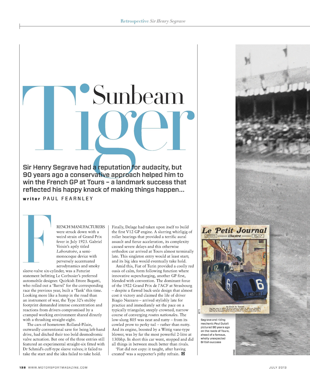 Sunbeam Tiger image