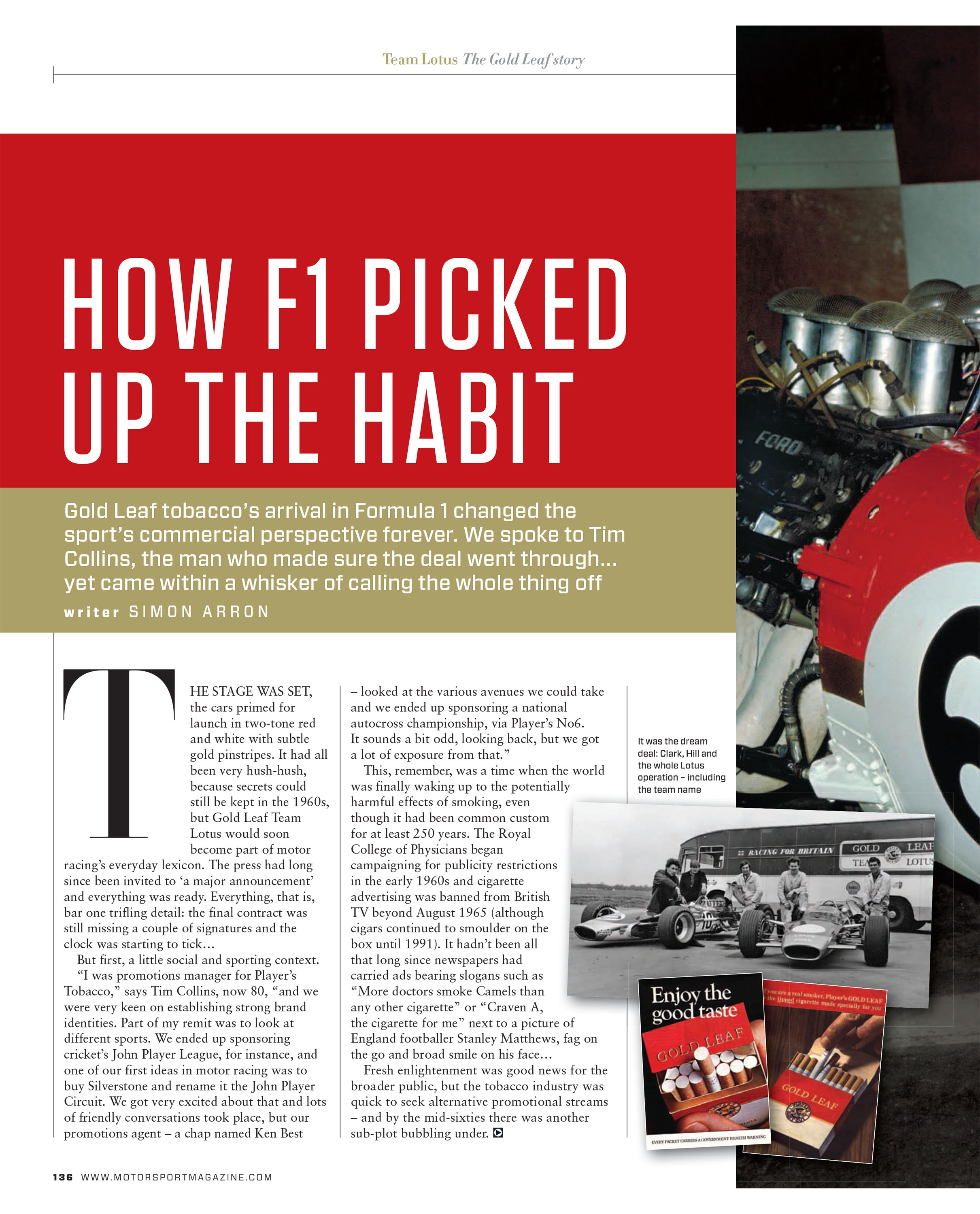 How F1 picked up the habit image