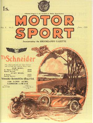 Cover of archive issue June 1929