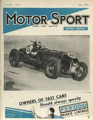 Cover of archive issue June 1932