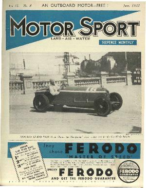 Cover image for June 1933