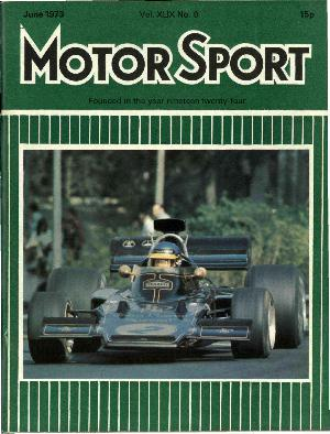 Cover of archive issue June 1973