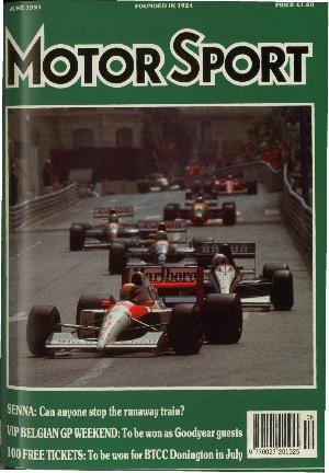 Cover of archive issue June 1991