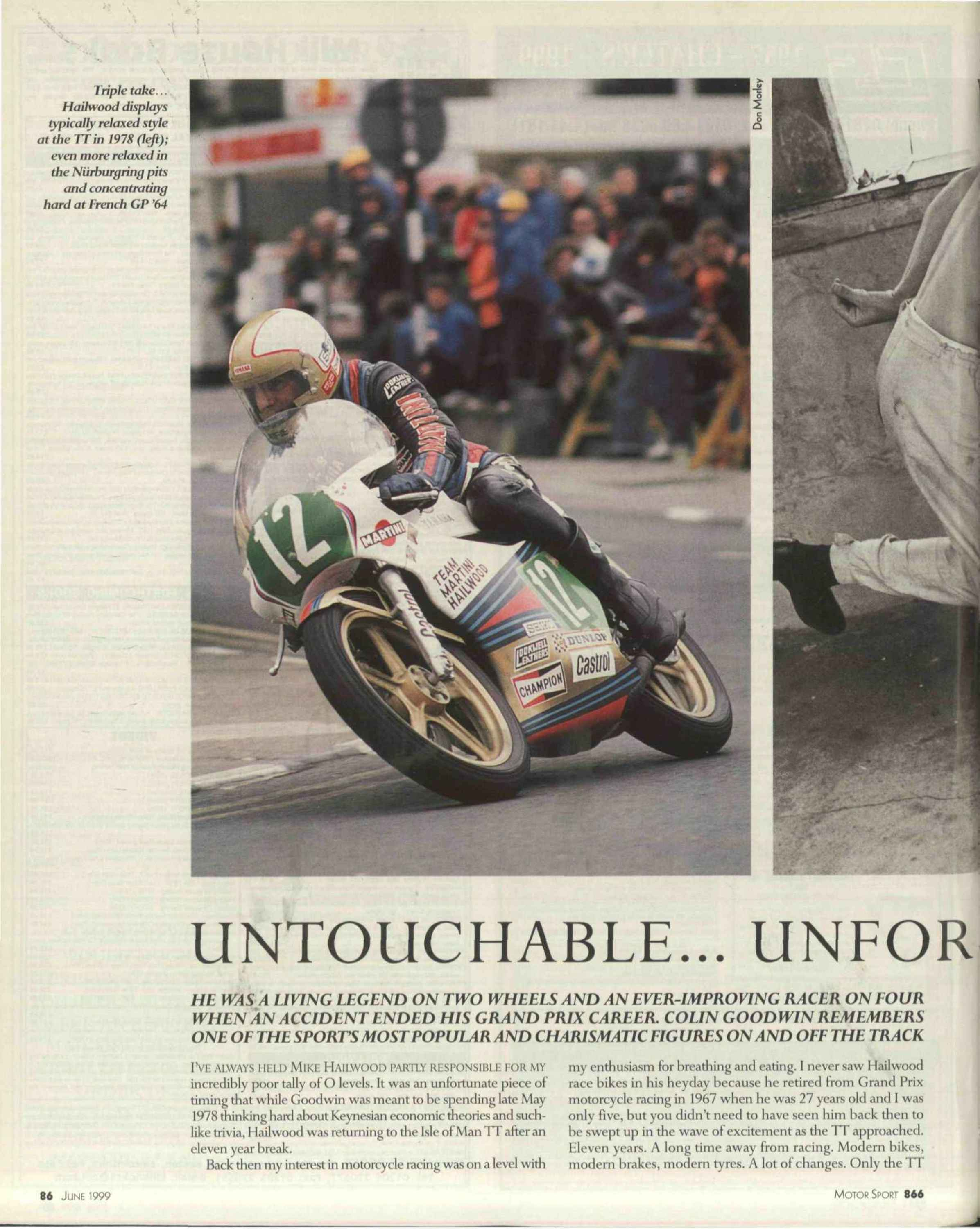 Untouchable... unforgettable... Mike Hailwood image