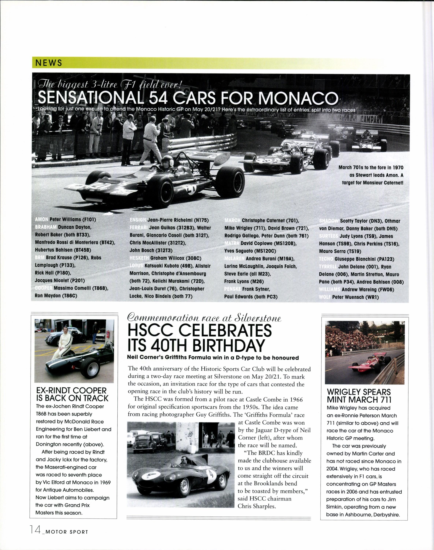Ex-Rindt Cooper is back on track | Motor Sport Magazine Archive