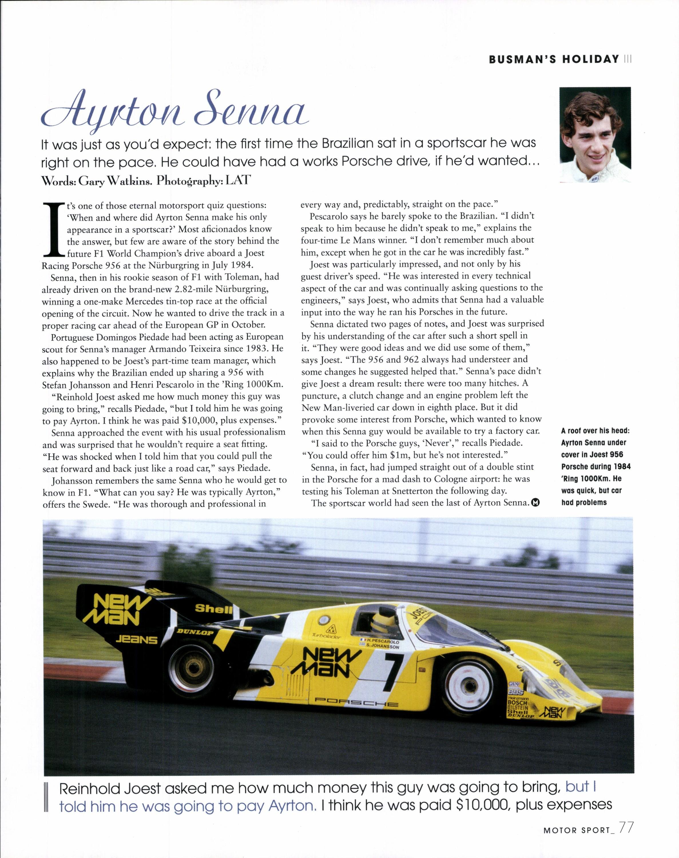 Ayrton Senna image