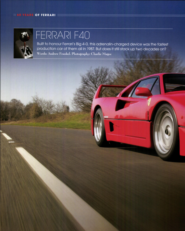 Ferrari F40 image