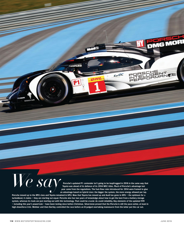 Porsche 919 Hybrid image